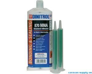 Bilde av Lim Dinitrol 870 MMA to-komponent 50ml