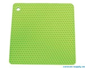 Bilde av Grytelapp LotusGrill silikon kvadrat limegrønn