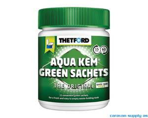 Bilde av Thetford Aqua Kem Green Sachets 15 boks